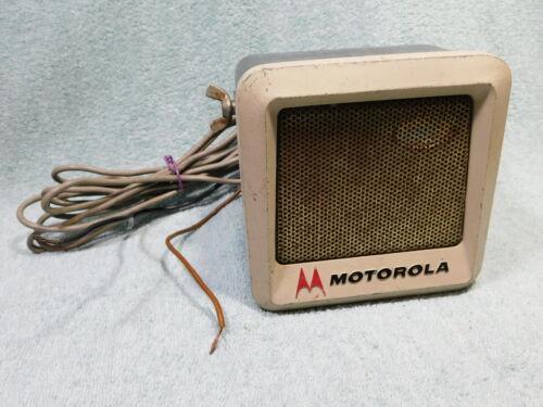 🔥 VINTAGE MOTOROLA AMPLIFIED SPEAKER FOR TWO WAY RADIO MOBILE HT CONVERTACOM