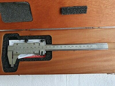 Starrett 123emz-6 Master Vernier Caliper 6-150mm