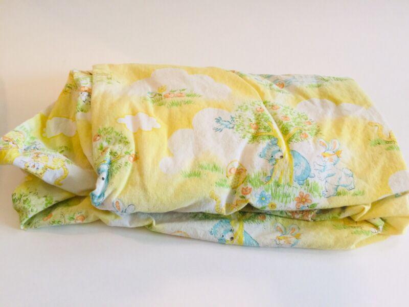 Vintage Crib Sheet Nursery Baby Bedding