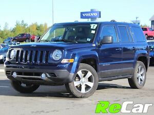 2017 Jeep Patriot Sport/North 4X4 | HEATED LEATHER | SUNROOF