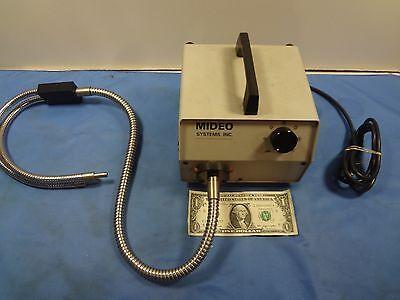Mideo Systems Inc. Fiber Optic Illuminator Mircoscope Light Source - Foi-150-mid