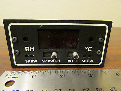 Omega Rhcn-1c Relative Humidity Temperature Controller Environmental Control