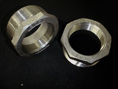 Stainless Steel Bushing Reducer 2 12 X 2 Bspt Pipe Bs-250-200-bsp