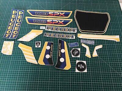 kit autocollant peugeot 103 SPX 1988