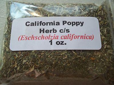 1 Oz  California Poppy Herb C S  Eschscholzia Californica