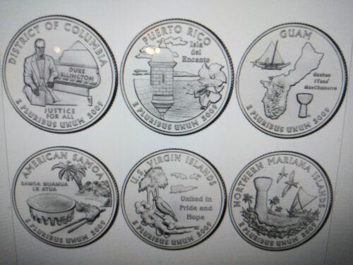 2009 P&D STATE QUARTERS- 12   BU COINS SET