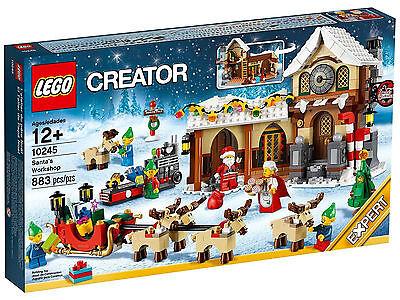 LEGO Santa/'s Workshop /& Elves/' Workshop 10245 40106 Mrs Claus Christmas reindeer