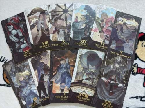 FMA Fullmetal Alchemist Tarot Card Deck