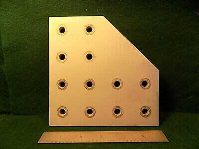 1 8020 4328 15 Series 12 Hole Joining Plate Used
