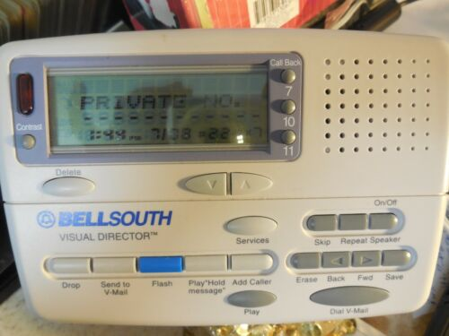BellSouth Visual Director Voice Mail  Caller ID Pre-Owned