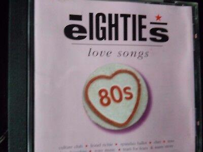 Eighties, love songs, 2001 Cd
