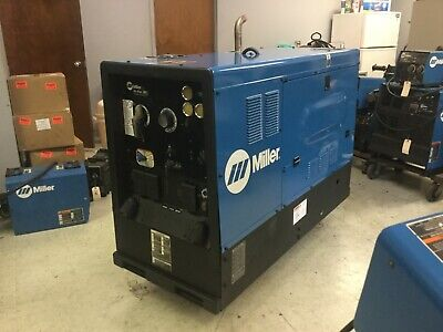 Miller Big Blue 400d Cccv Diesel Welder Generator