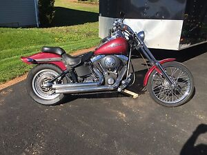2004 Harley Softail Night Train FXSTB1