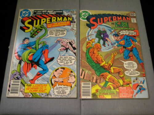 Superman #327 And #328 (1978, DC)