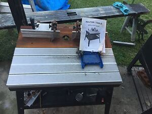 Makita router and router table St Marys Penrith Area Preview