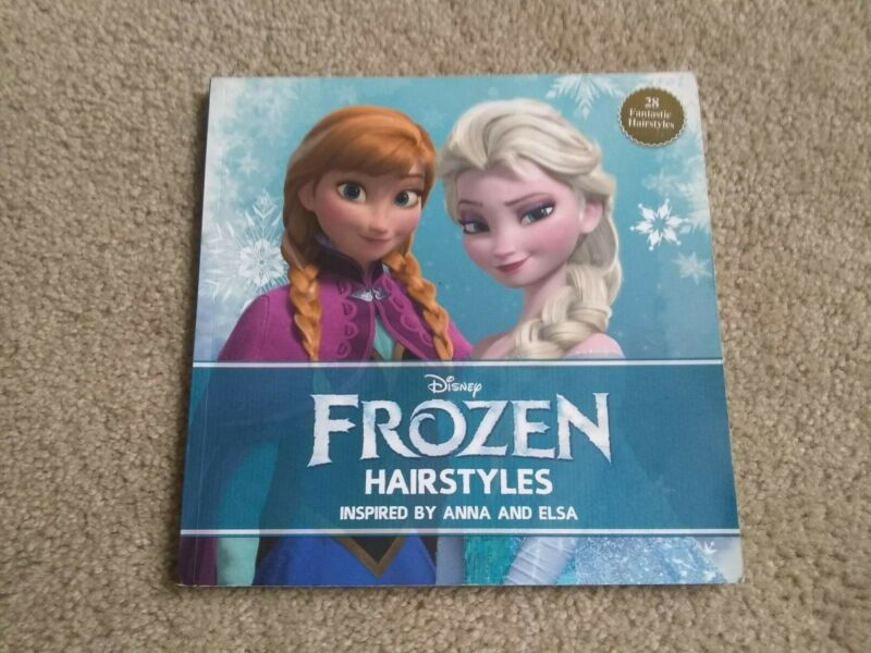 Disney Frozen Hairstyling Braiding Book, like New
