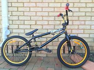 "Essex Vice Black and Gold 20"" inch BMX Mid/New School Bike Cambridge Park Penrith Area Preview"