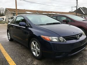 2007 Honda Civic coupe NEW SAFETY!!!