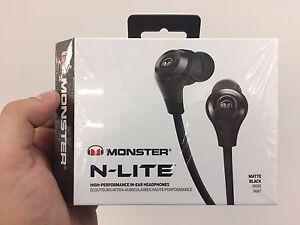 Monster N-Lite Earphones