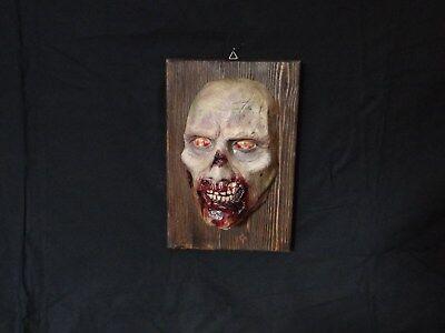 Lifesize bust 1:1 Horror bust Zombie bust TWD Halloween  Zombie Büste