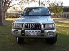2002 Toyota LandCruiser Wagon (DUAL FUEL - PETROL & GAS) Wadalba Wyong Area Preview