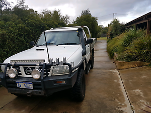 2004 nissan gu patrol 4.2 tdi Boyanup Capel Area Preview