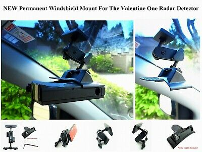Set New Designed Permanent Windshield Mount For The Valentine One Radar Detector