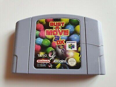 Bust A Move 3DX - N64 - Spiel Modul - Nintendo 64 - PAL