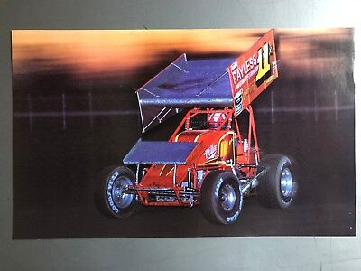1988 Sprint Race Car World of Outlaws Print, Picture, Poster RARE!! Awesome L@@K