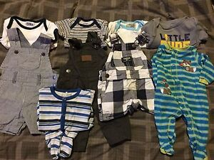 NB and 0-3 month old baby boy clothing