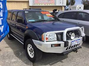 2004 NISSAN D22 NAVARA DX TURBO DIESEL 4X4 AND ONLY 141,000 KLMS Silver Sands Mandurah Area Preview