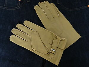 De-cuero-guantes-Leather-Hot-Rod-Gloves-1939-vintage-Heritage-style-rockabilly