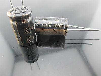 10pcs Japan Roa Cerafine 100uf 50v Capacitor For Audio Rohs New Diy Hifi