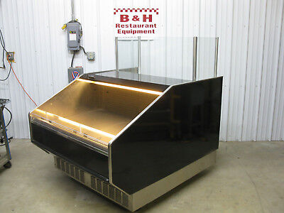 Barker 51 Sushi Presentation Grocery Deli Display Case Refrigerator 4 3 Bdpc4