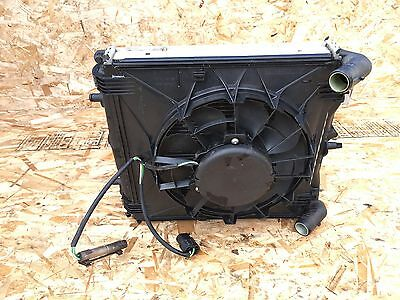 PORSCHE BOXSTER (98-04) 986 COOLANT RADIATOR ENGINE FAN AC CONDENSER OEM SET