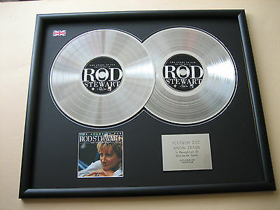 Very Best Of ROD STEWART The Story So Far DOUBLE CD DISC Platinum Presentation