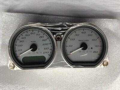 HARLEY DAVIDSON Instrument Gauge Cluster Speedometer 70900124B - Genuine, OEM