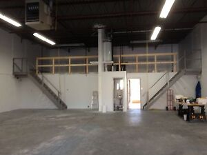 3200 sq ft lite industrial space for rent in milton
