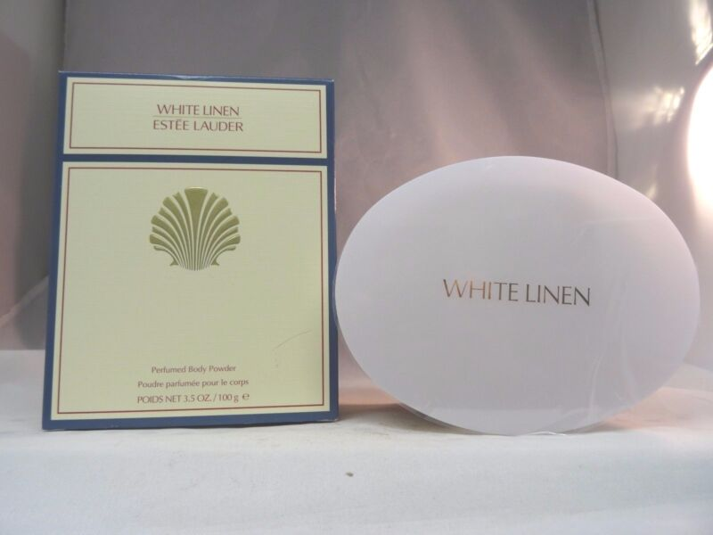 ESTEE LAUDER - WHITE LINEN PERFUMED BODY POWDER - 3.5 OZ - NEW IN BOX