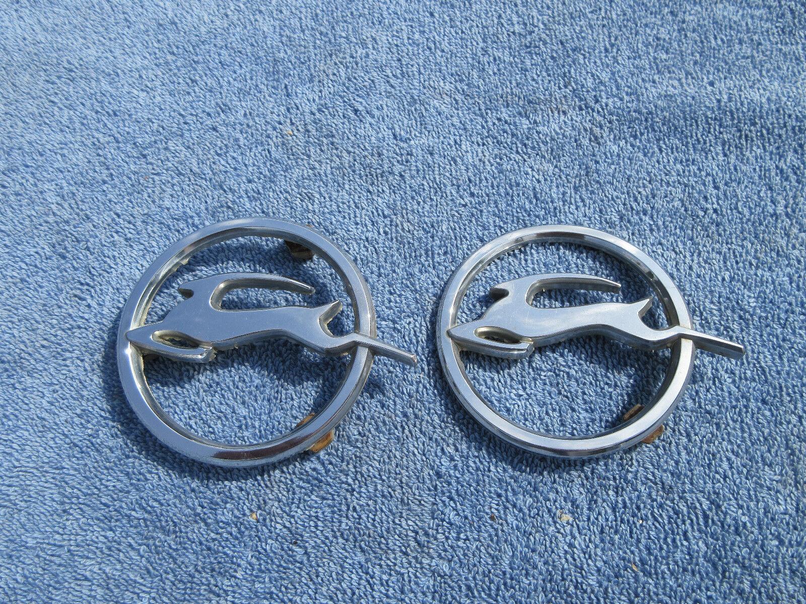 1961 1962 1963 Chevrolet Impala rear quarter panel emblems