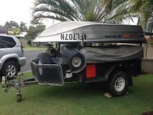 REDUCED PRICE Off Road Camper Trailer + Boat,motor & boat trailer East Ballina Ballina Area Preview