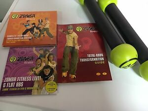 Zumba at home set