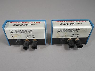 Lot Of 2 Esi Ca6042 Voltage Divider 10k 100v