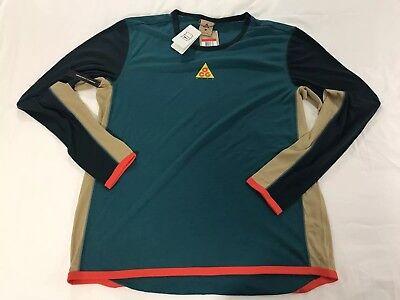 Nike Long Sleeve Jersey - Men's Nike ACG Crew Baselayer Long Sleeve Jersey Size LARGE AQ2306 381 NWT