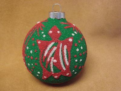Native American Sandpainting Christmas Ornament! Handmade - Irwin Jim
