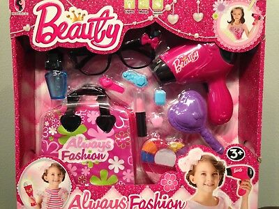 Toys for Girls 3 4 5 6 7 8 9 Years  Old Kids 11 pcsBeauty Set Cool Birthday Gift (Gift For 9 Years Old Girl)