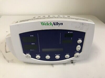 Welch Allyn Patient 530t0 Monitor 53000 Temp Nibp Cuff