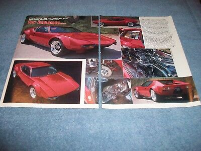 1972 Pantera Twin-Turbo Street Machine Article
