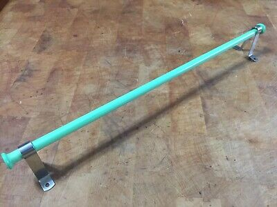 "Vintage Jadeite Towel Bar 17.5"" W/ Mounting Brackets Retro"