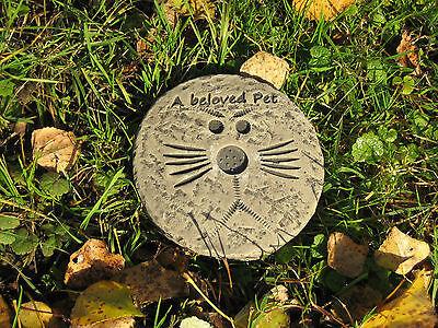a beloved pet cat/dog memorial stone garden ornament (s) <<VISIT MY SHOP>> Beloved Pet Memorial Stone